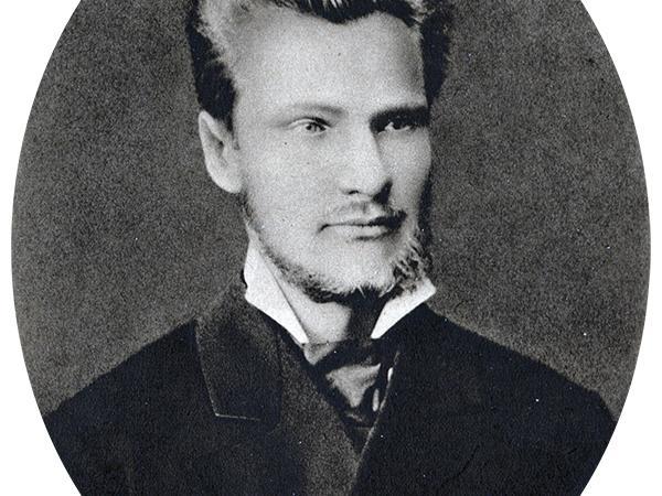 """Jānis Krodznieks studiju gados. Attēls no grāmatas """"Latviešu vēsture, I daļa"""" (1938)."""