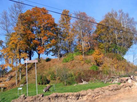 Griškas kalns 2005.gada oktobrī. V.Grīviņa foto.