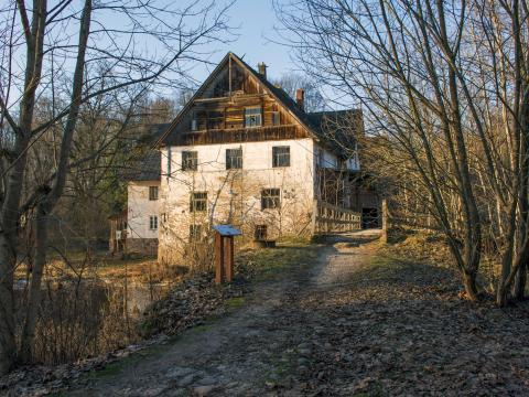 Mazstraupes dzirnavas. Straupes pagasts. 2020.g. 9.decembris. V.Grīviņa foto.
