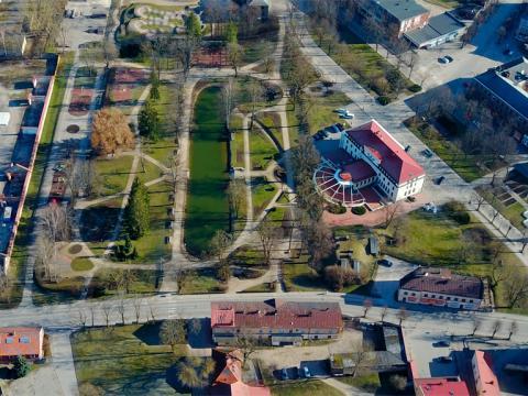 Viesnīca HOTEL CĒSIS un Maija parks. 2020.g. 23.marts.