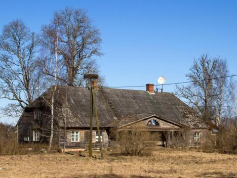 Vaidavas muižas kungu māja. Vaidavas pagasts. 2020.g. 31.marts. V.Grīviņa foto.